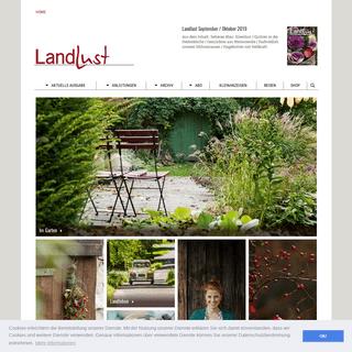 Landlust – Ihr Online-Portal für Garten, Küche, Wohnen, Landleben und Natur.
