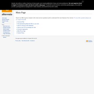 Altervista Wiki