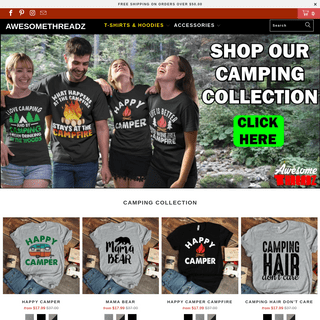 Awesome Threadz - Men's T Shirts - Women's T Shirts - Hoodies