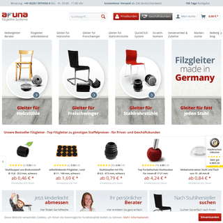 Filzgleiter für Stühle günstig im AFUNA Shop kaufen!