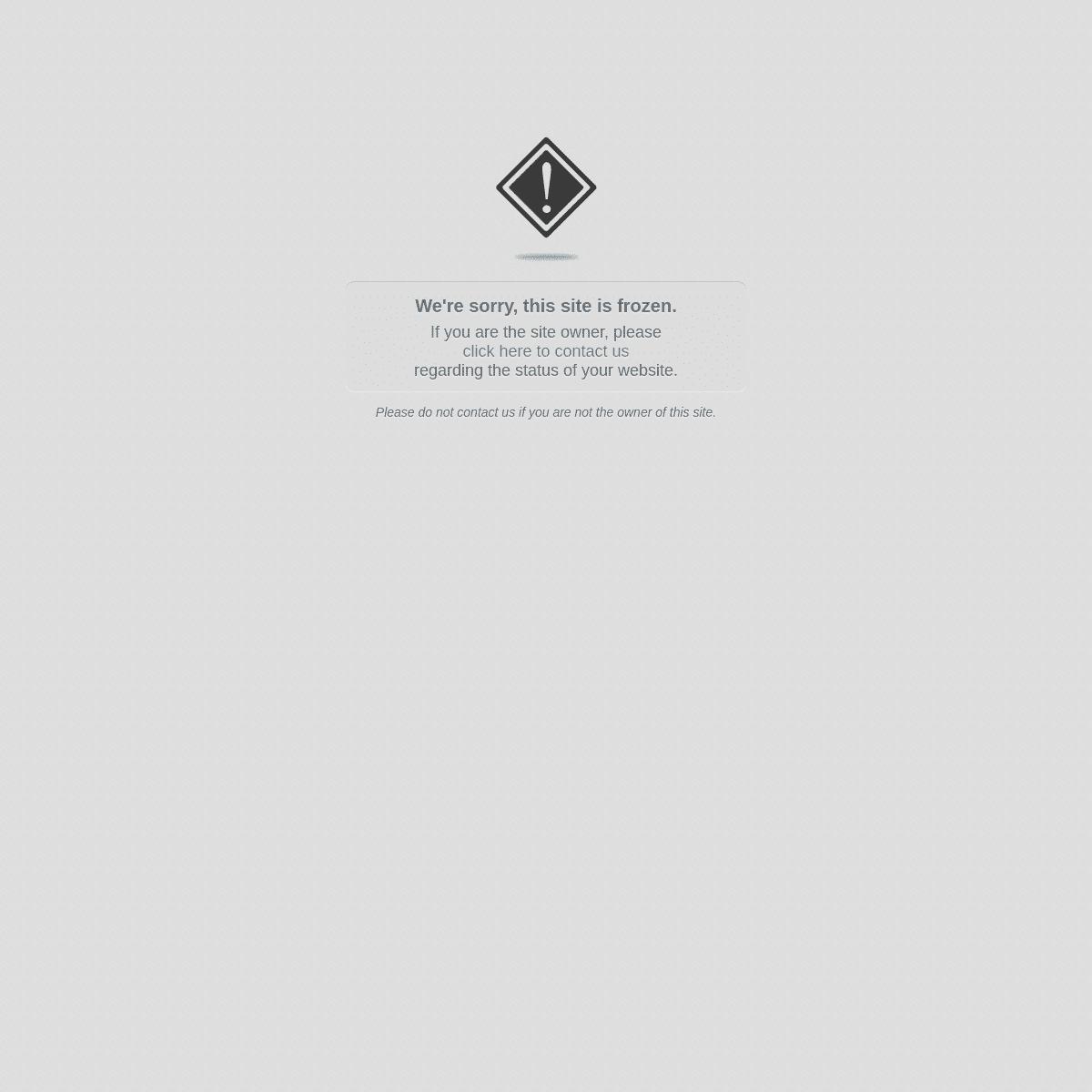 This website is frozen.