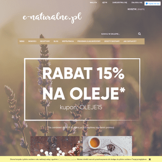 e-naturalne.pl kosmetyki naturalne
