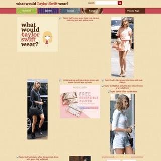 Taylor Swift Fashion and Outfits- What Would Taylor Wear- - Fashion Inspiration