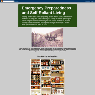 ArchiveBay.com - ogocaj2.blogspot.com - Emergency Preparedness and Self-Reliant Living