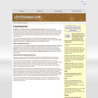 ArchiveBay.com - xn--lyttavara-07ac.com - Löytötavarat, löytötavaratoimistot ja löytötavaroihin liittyvä asiatieto täältä