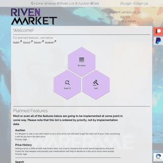 Riven.market - Riven Trading Platform