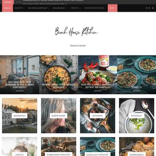 Beach house kitchen - ruokablogi