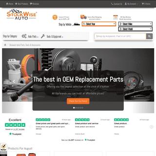 Discount Auto Parts, Tools & Accessories - StockWise Auto