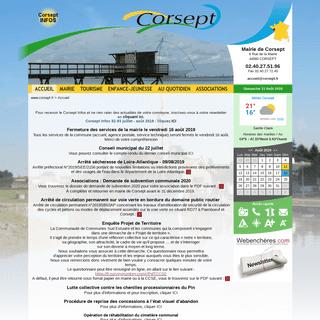 Corsept - Site officiel de la Mairie de Corsept en Loire-Atlantique - Découverte de la commune de Corsept (44560)