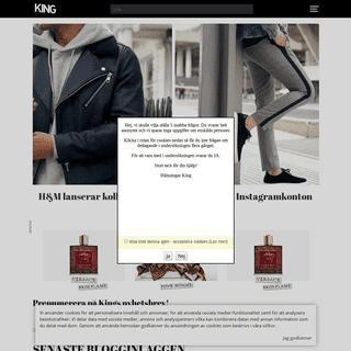 Sveriges enda renodlade modemagasin för män. - Kingmagazine