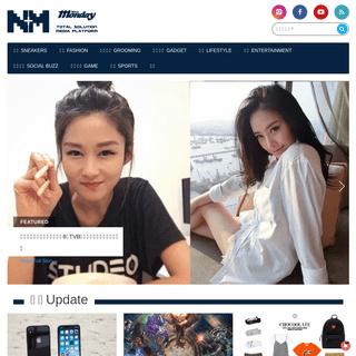 新Monday NM+「潮 + 互動」全方位媒體平台 - 首頁