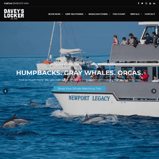 Greater Los Angeles Whale Watching & Fishing-Davey's Locker