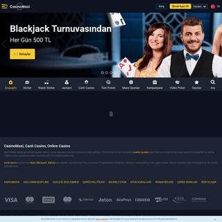 CasinoMaxi - Online Casino Oyunları