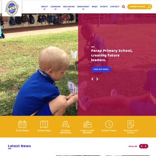 Homepage - Parap Primary School
