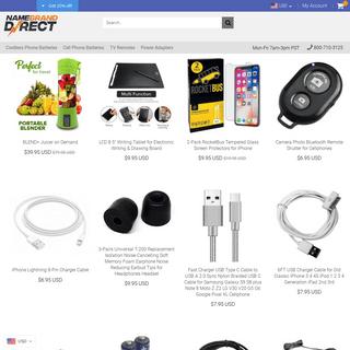 Name Brand Direct - Apple Samsung LG Sony Toshiba Dell HP Epson Canon – namebranddirect.com