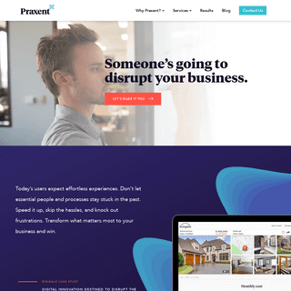 Praxent - Digital innovation agency for service-based businesses