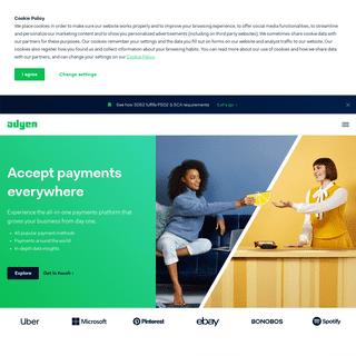Adyen - The payments platform built for growth