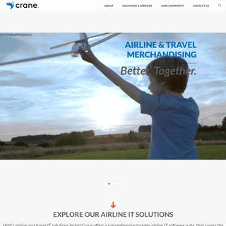 Crane - Airline IT Solutions& Services