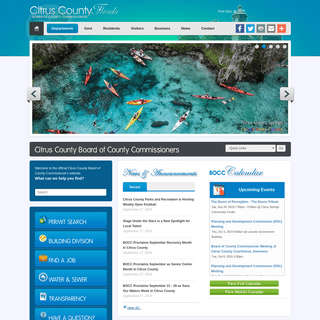 Citrus County Board of County Commissioners - Official Website