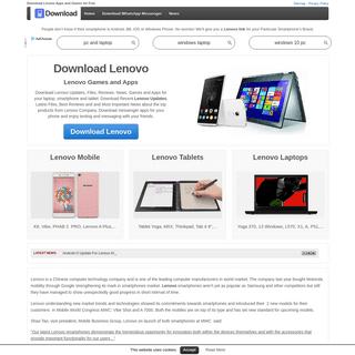 Download Lenovo -