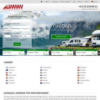 ArchiveBay.com - world-wide-wheels.com - Wohnmobil mieten - Vermietung Camper - Caravan