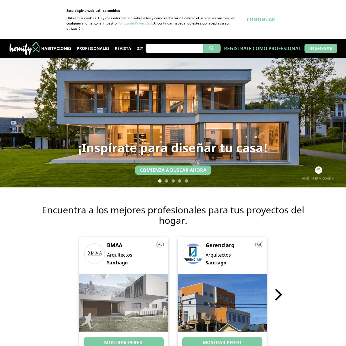 ArchiveBay.com - homify.cl - Decoración de hogar, diseño de interiores, ideas para la cocina y el baño - homify