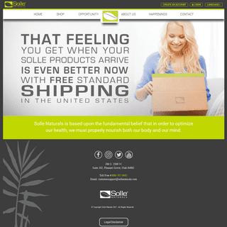 Solle Naturals - Official Site - Adaptogen fueled mind & body formulas