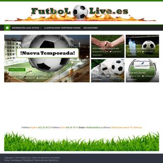 Futbol Live – Las mejores ligas futbol 7, futbol sala y basket de Valencia