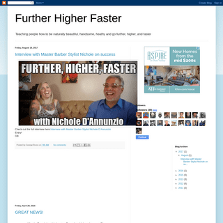 Further Higher Faster