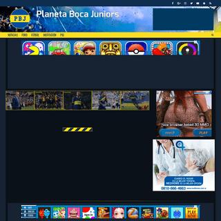 ArchiveBay.com - planetabocajuniors.com.ar - Planeta Boca Juniors