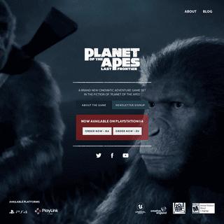 Planet of the Apes- Last Frontier Game - The Imaginarium