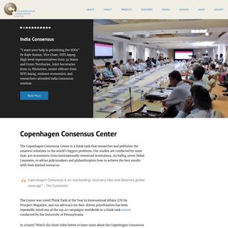 ArchiveBay.com - copenhagenconsensus.com - Copenhagen Consensus Center - Copenhagen Consensus Center