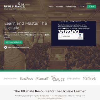 ArchiveBay.com - ukuleleunderground.com - Ukulele Underground - The Ultimate Online Ukulele Lessons Experience