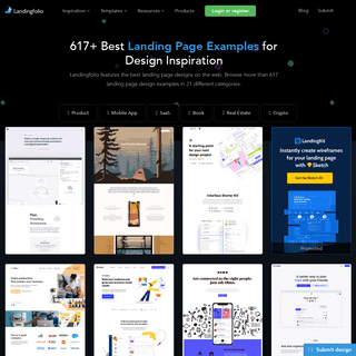 617+ Best Landing Page Examples for Design Inspiration - Landingfolio