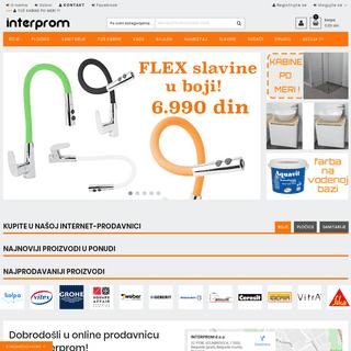 Interprom - Boje, lakovi i sanitarije Interprom
