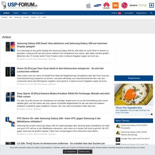 Artikel - Smartphone & Handy Forum - USP-Forum.de