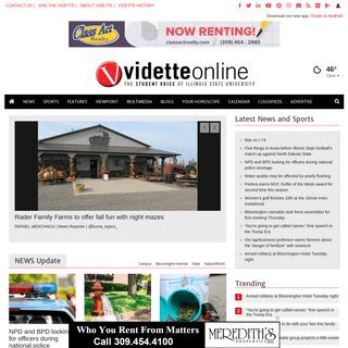 videtteonline.com - Illinois State University's News Source