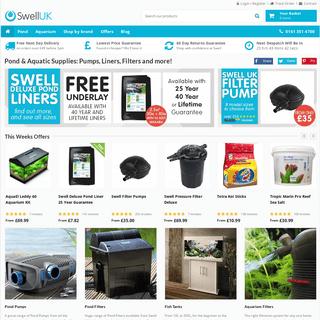ArchiveBay.com - swelluk.com - Aquarium, Fish Tank & Pond Supplies - Swell UK