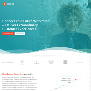 Connect & Engage Your Entire Workforce - Speakap