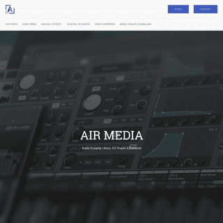 Air Media UK Radio Imaging Library Download Sweeper DJ jingles Effects