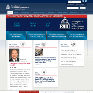 Howard Jarvis Taxpayers Association