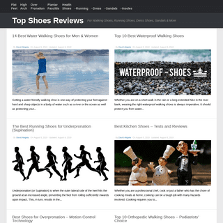 Top Shoes Reviews 2019 - For Walking Shoes, Running Shoes, Dress Shoes, Sandals & More