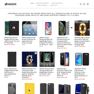 Online Shopping for Cases, Gizmos, LED, Electronics, Toys, Accessories – AMZER