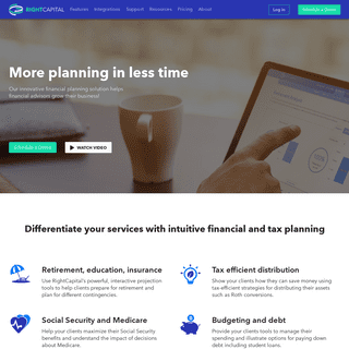 RightCapital- Financial Planning Software