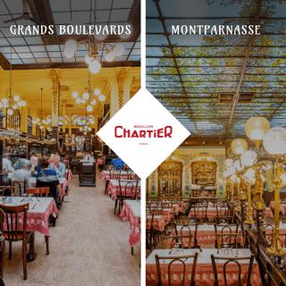 Restaurant le Bouillon Chartier – Brasseries traditionnelles Paris – Montparnasse et Grands Boulevards