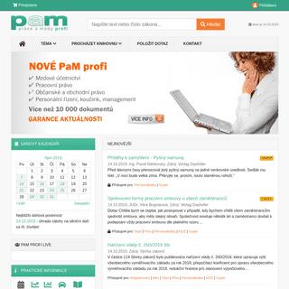 PaM profi - pracovní právo, mzdové účetnictví, personalistika