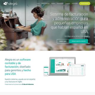 ArchiveBay.com - alegra.com - Software Contable y de facturación para Pymes - USA