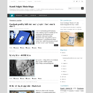 ArchiveBay.com - kamiladgozalli.blogspot.com - Kamil Adgözəllinin blogu