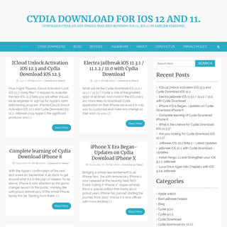 Cydia Download for iOS 12 and 11. - Download Cydia on any iPhone iPad iPod running iOS 12, iOS 11 or earlier versions.
