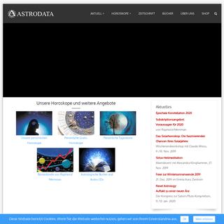 Willkommen bei Astrodata
